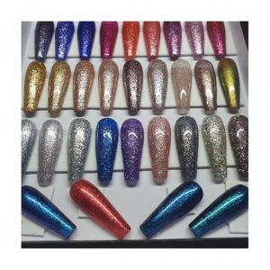 Single colour glitter nails | Your choice of colour